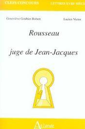 Rousseau Juge De Jean-Jacques - Intérieur - Format classique