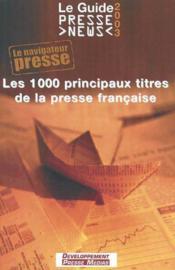 Guide Presse News - Couverture - Format classique