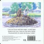 Flocon se jette a l'eau - 4ème de couverture - Format classique