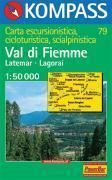 Val di fiemme-latemar-lagorai - Couverture - Format classique