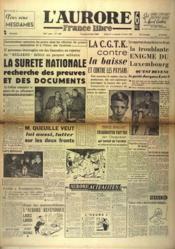 Aurore France Libre (L') N°1386 du 26/02/1949 - Couverture - Format classique