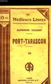 Port Tarascon - Tome 3 - Couverture - Format classique