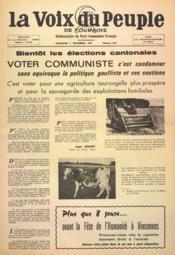 Voix Du Peuple De Touraine (La) N°1362 du 03/09/1967 - Couverture - Format classique