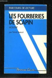 Les fourberies de Scapin, de Molière - Couverture - Format classique