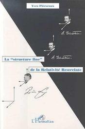 La structure fine de la relativité restreinte - Intérieur - Format classique