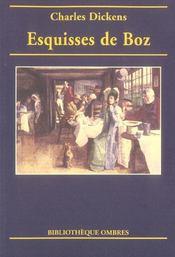 Esquisses de Boz - Intérieur - Format classique