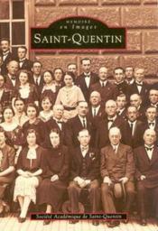 Saint-Quentin - Couverture - Format classique