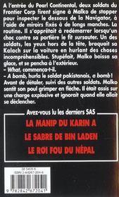 Sas T.148 ; Bin Laden : La Traque - 4ème de couverture - Format classique