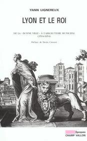 Lyon Et Le Roi - Intérieur - Format classique