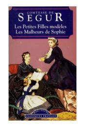 Les Petites Filles Modeles (Les) / Malheurs De Sophie - Couverture - Format classique