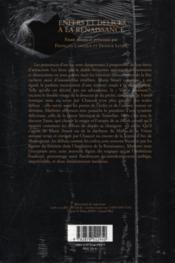 Enfers et delices a la renaissance - Couverture - Format classique