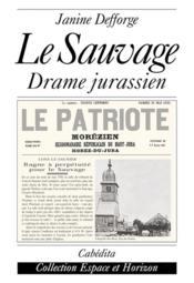 Sauvage (Le) - Couverture - Format classique