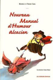 Nouveau Manuel D'Humour Alsacien - Couverture - Format classique