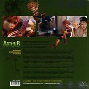 L'histoire de Arthur et les minimoys ; aventure et découverte d'un film - 4ème de couverture - Format classique