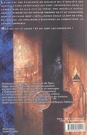 Chasseurs (Les) - 4ème de couverture - Format classique