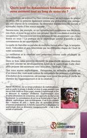 Sophrologie et spiritualité ; une voie transpersonnelle - 4ème de couverture - Format classique