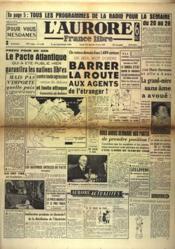 Aurore France Libre (L') N°1404 du 19/03/1949 - Couverture - Format classique