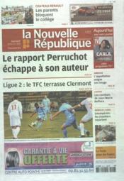 Nouvelle Republique (La) N°20473 du 18/02/2012 - Couverture - Format classique