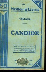Candide Ou L'Optimisme. Collection : Les Meilleurs Livres N° 62. - Couverture - Format classique