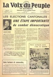 Voix Du Peuple De Touraine (La) N°1363 du 10/09/1967 - Couverture - Format classique