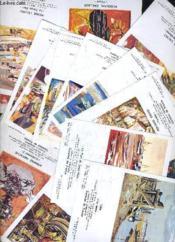 Galerie Cernuschi Caravan De France - 20 Fichettes Copies De Litographie. - Couverture - Format classique