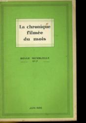 La Chronique Filmee Du Mois N°17 - Couverture - Format classique