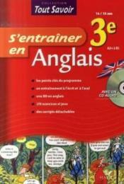 S'Entrainer En Anglais 3e – Hourquin, Didier ; Rattier, Jeanne-France