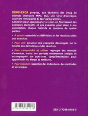 Étude locale des fonctions dérivables ; développements limités - 4ème de couverture - Format classique