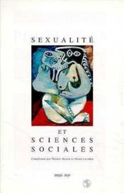 Sexualite Et Sciences Sociales - Couverture - Format classique