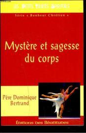 Mystère et sagesse du corps - Couverture - Format classique