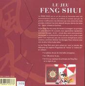 Le jeu feng shui - 4ème de couverture - Format classique