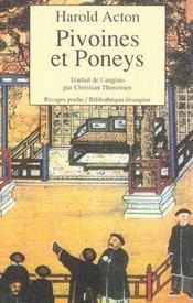 Pivoines Et Poneys - Intérieur - Format classique