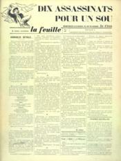 Feuille De Zo D'Axa (La) N°2 - Intérieur - Format classique