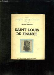 Saint Louis De France. - Couverture - Format classique