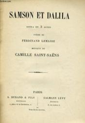 Samson Et Dalila - Couverture - Format classique