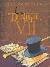 Le décalogue t.7 ; les conjurés - Intérieur - Format classique
