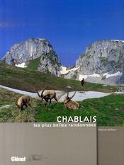 Chablais, les plus belles randonnées - Intérieur - Format classique