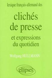 Lexique Francais-Allemand Des Cliches De Presse Et Expressions Du Quotidien - Intérieur - Format classique