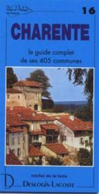 Charente - Couverture - Format classique