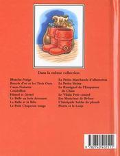 Chat Botte (Le) - 4ème de couverture - Format classique