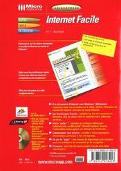 Guidexpress internet facile 2000 - 4ème de couverture - Format classique