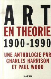 Art en théorie, 1900-1990 - Intérieur - Format classique