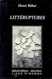 Litteruptures - Couverture - Format classique