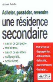 Acheter Possed Revend Residenc - Intérieur - Format classique
