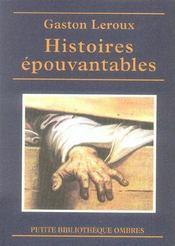 Histoires épouvantables - Intérieur - Format classique