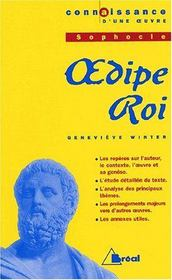 Oedipe-roi, de Sophocle - Intérieur - Format classique