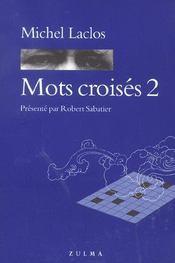 Mots croisés t.2 - Intérieur - Format classique