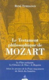 Le testament philosophique de mozart - Intérieur - Format classique