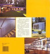 Maisons D'Architectes T3 - 4ème de couverture - Format classique