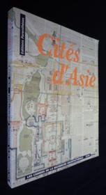 Cites D'Asie-Cahiers De La Recherche Architecturale - Couverture - Format classique